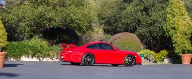 Porsche GT3 RED Stock Photography