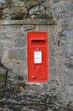 Red Post Box - UK Stock Photo