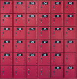 Red Postboxs Royalty Free Stock Photo