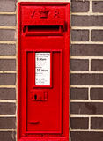 RED Postal box Royalty Free Stock Image