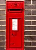 RED Postal box Royalty Free Stock Image