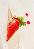 The red pot Stock Photos