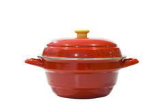 Red pot Stock Photos