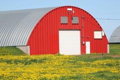 Red Potato Warehouse Royalty Free Stock Photos