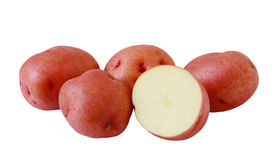 Red Potatoes Stock Images