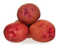 Red potatoes Stock Photos