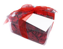 Red Potpourri gift Royalty Free Stock Photos