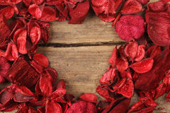 Red potpourri Stock Photo