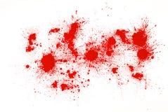 Red powder Stock Photo