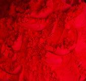 Red powder Royalty Free Stock Image