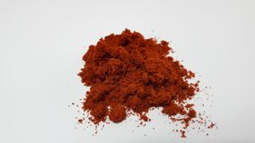 Red powder stock images