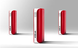 Red Power bank Royalty Free Stock Image