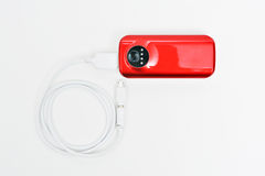 Red power bank Royalty Free Stock Images