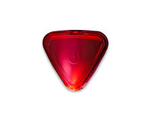Red power button,triangle Stock Images