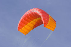 Red power kite Stock Images