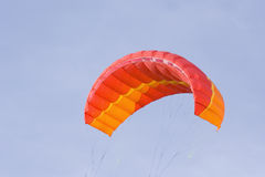 Red power kite Royalty Free Stock Image