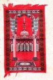Red prayer carpet Royalty Free Stock Photo