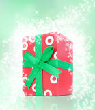 Red present Royalty Free Stock Image