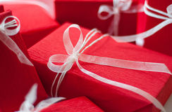 Red present Royalty Free Stock Photos