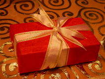 Red present Stock Images