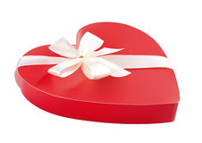 Red present box Stock Photography