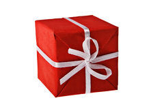 Red present box Stock Image