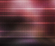 Red Presentation Stage Background Stock Image