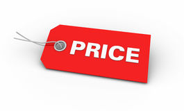 Free Red Price Tag Royalty Free Stock Image - 26797296