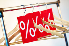 Red prices Royalty Free Stock Photos