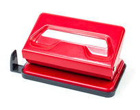 Red_puncher. Red puncher over white background Stock Photography