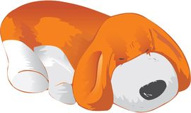 Red puppy Stock Images