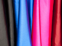 Colorful silks Stock Photos