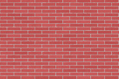 Red, Purple Brick Wall Royalty Free Stock Images