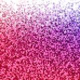 Color irregular rectangle mosaic vector background Stock Photos