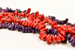 Red and purple corn Stock Images
