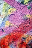 Red and purple paint grunge Stock Photography