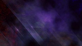 Red Purple Particle with Glass and Smoke Background 4K Loop