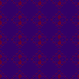 Red-Purple Seamless Pattern Background Stock Photos