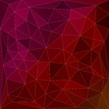 Red and purple triangles background Royalty Free Stock Photo