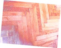 Red purple yellow white floor wooden Stock Photography