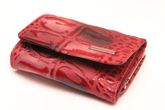 Red Purse Stock Images