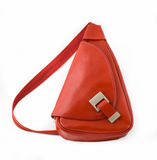 Red Purse For Ladies Stock Photo
