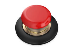 Red push button Royalty Free Stock Images