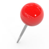 Red pushpin. Stock Photography