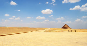 Red pyramid in Dahshur Stock Photography