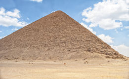 Red pyramid in Dahshur Royalty Free Stock Image