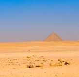 Red pyramid at Dahshur, Cairo, Egypt Royalty Free Stock Photo