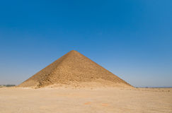 Red pyramid at Dahshur, Cairo, Egypt Stock Photos