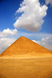The Red Pyramid of Dahshur, Egypt stock images
