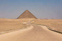 The Red pyramid of Dahshur in Giza, Egypt Royalty Free Stock Image